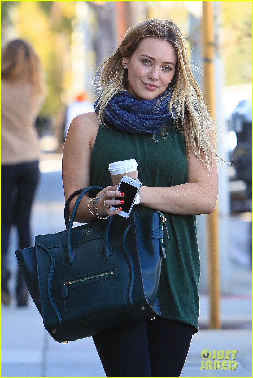 hilary duff gym session before halloween 022983365