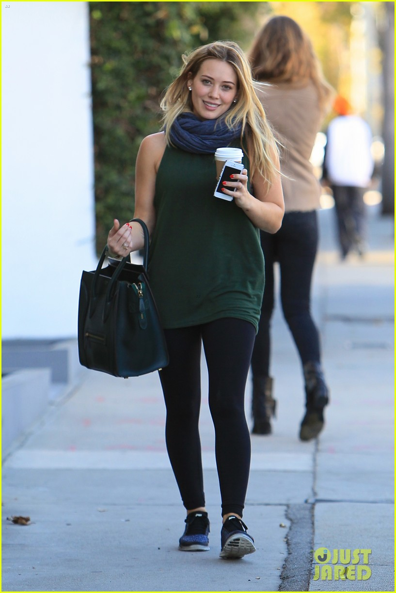 hilary duff gym session before halloween 062983369
