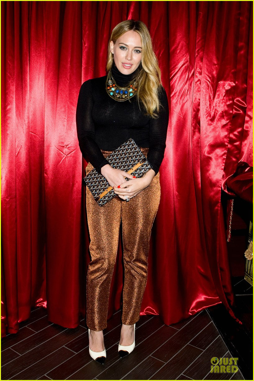 hilary duff just jared halloween party 2013 012979245