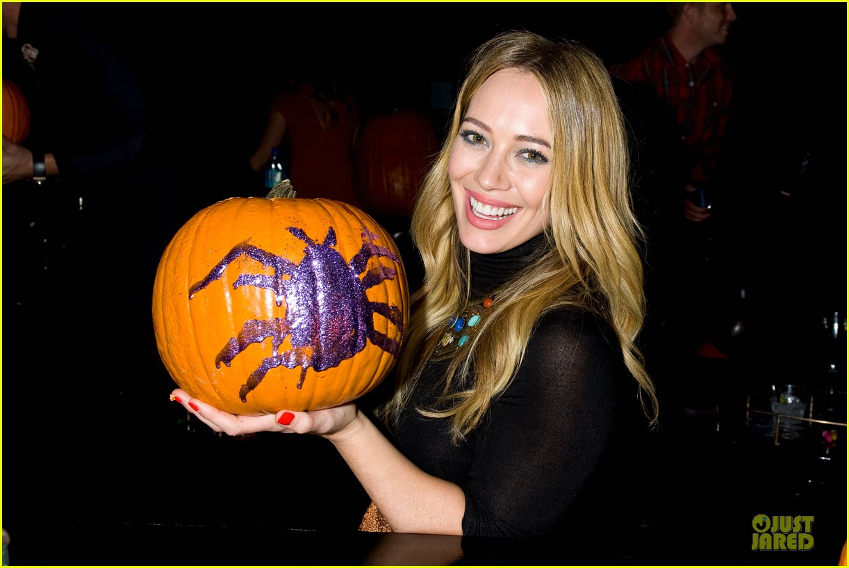 Hilary Duff - Just Jared Halloween Party 2013: Photo 2979246 ...