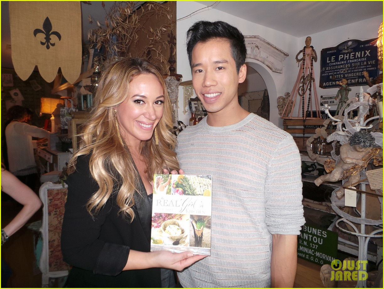hilary duff supports sister haylie at real girls kitchen signing 042981460