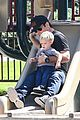 hilary duff mike comrie slides with luca 10