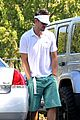 josh duhamel golf course fun with male pal 04
