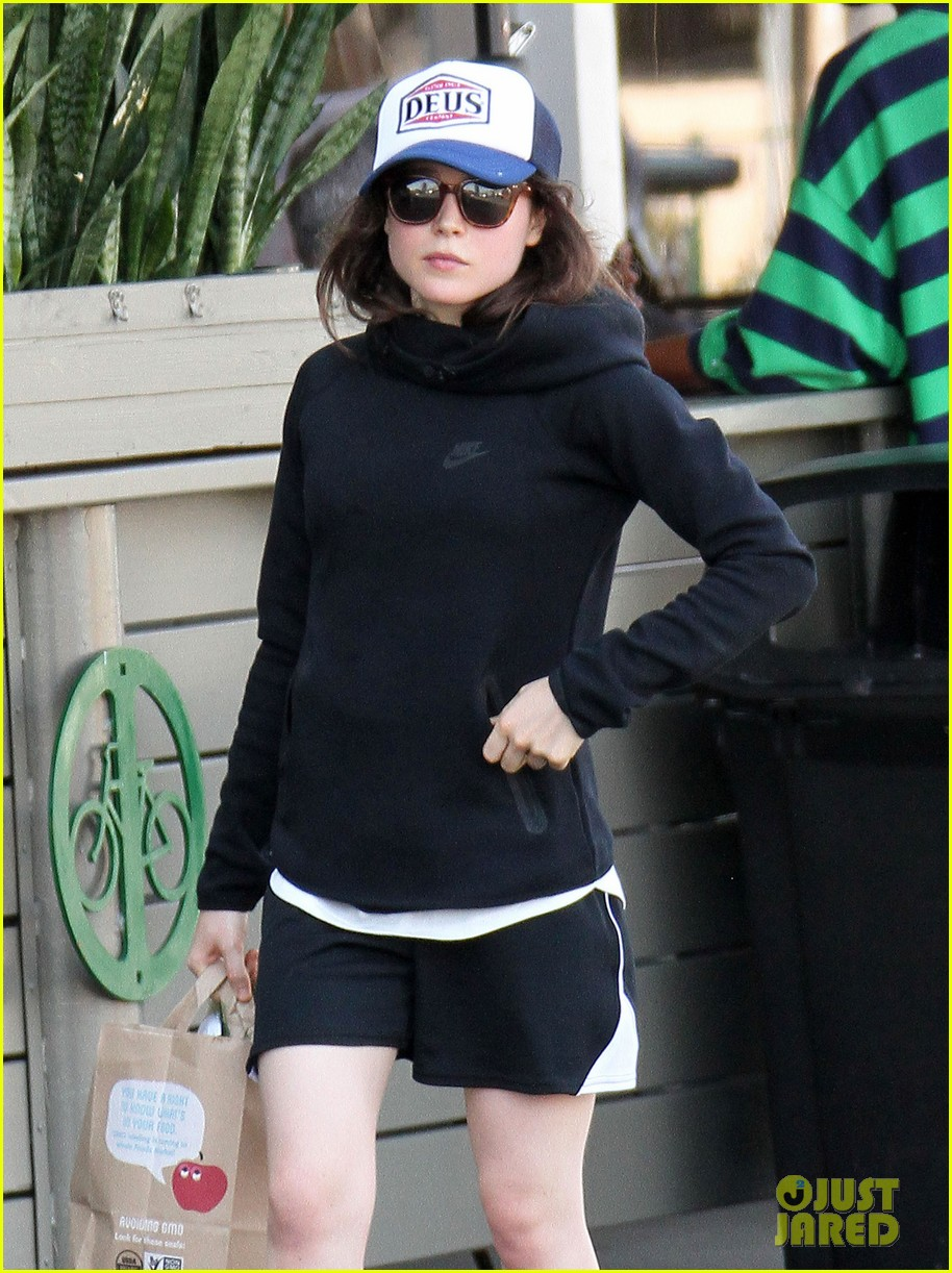 ellen page whole foods after paris trip 022966556
