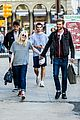 dakota fanning jamie strachan hold hands for shopping 10