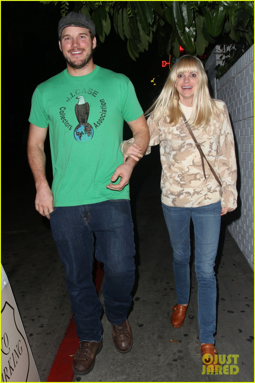 anna faris chris pratt double date with kaley cuoco 052981438