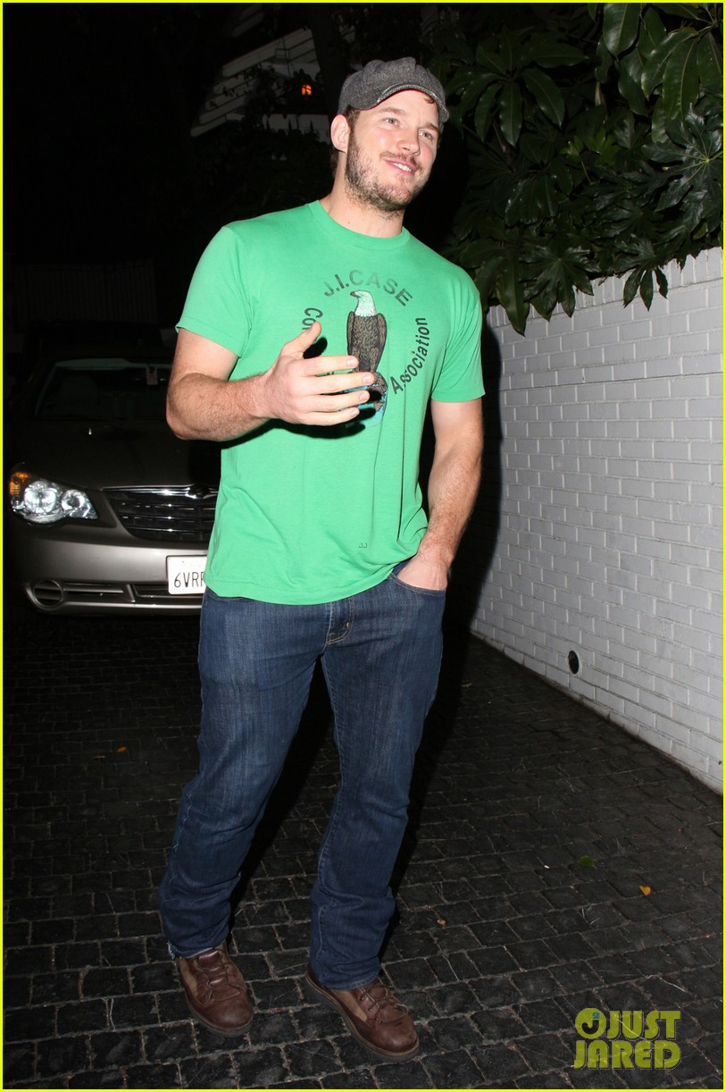 anna faris chris pratt double date with kaley cuoco 082981441