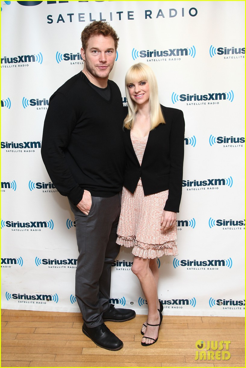 anna faris chris pratt do promo together in new york city 042972741