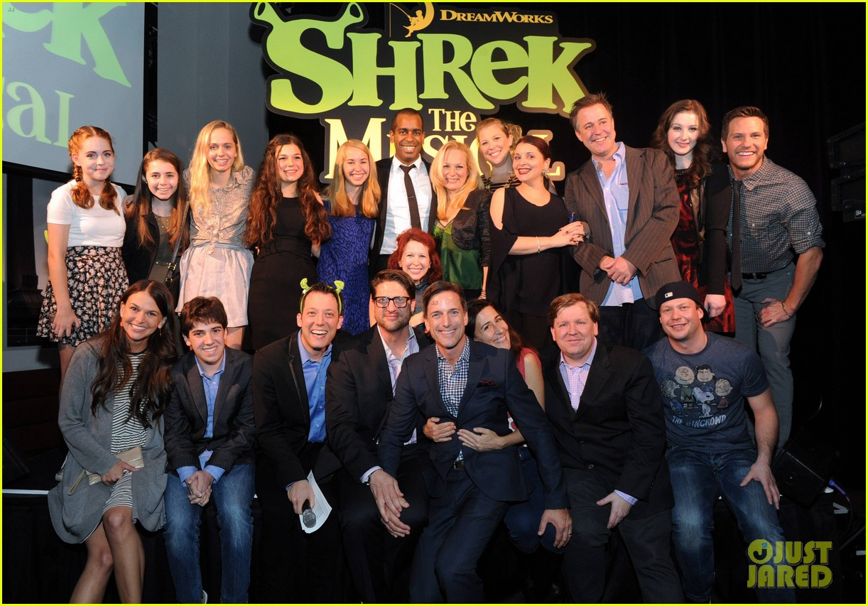 sutton foster launches shrek the musical dvd 032973183