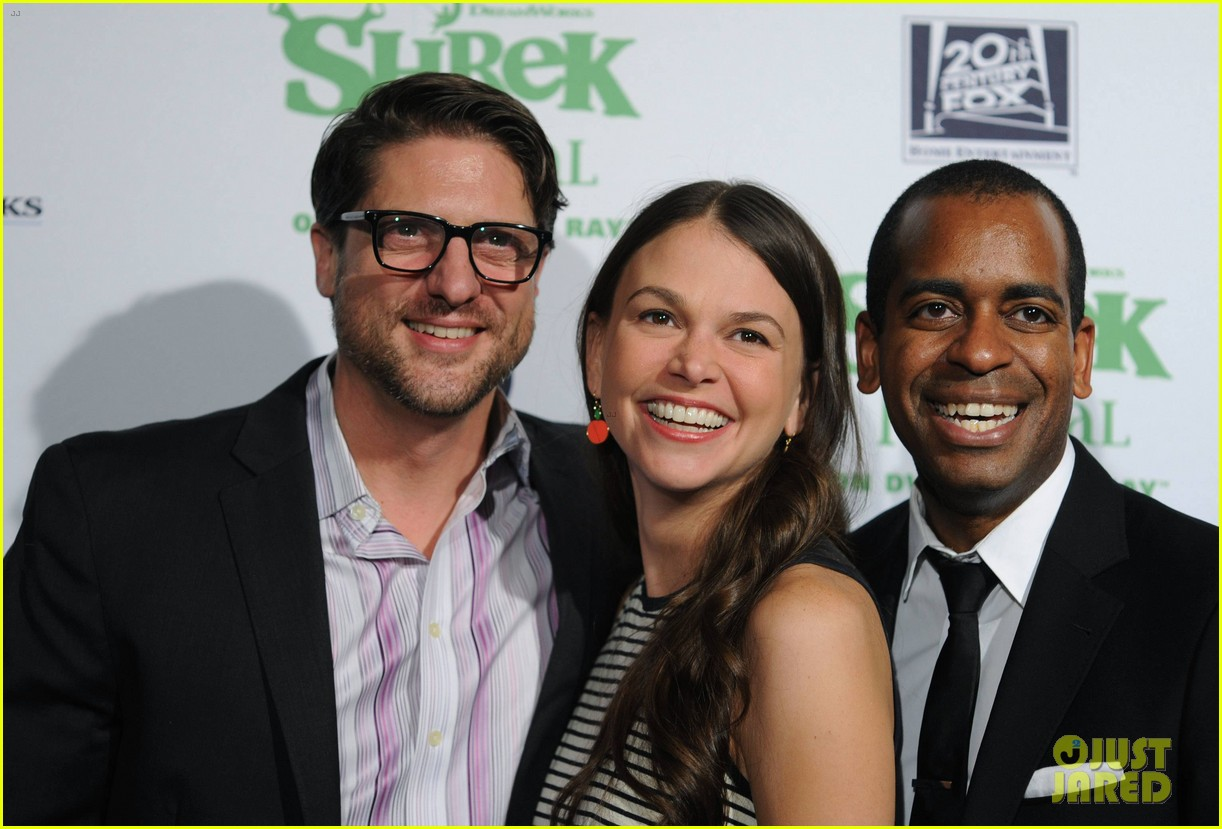 sutton foster launches shrek the musical dvd 10