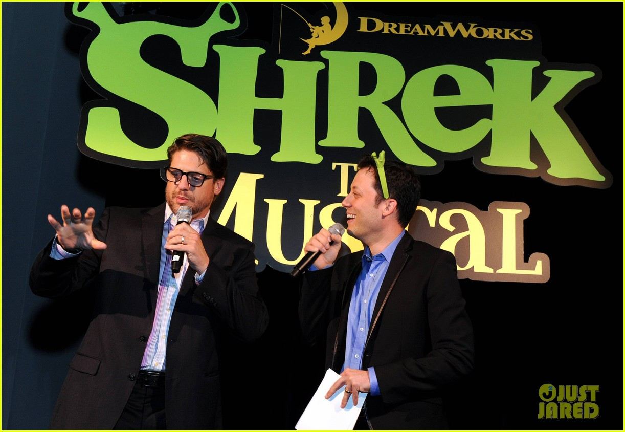 sutton foster launches shrek the musical dvd 252973205