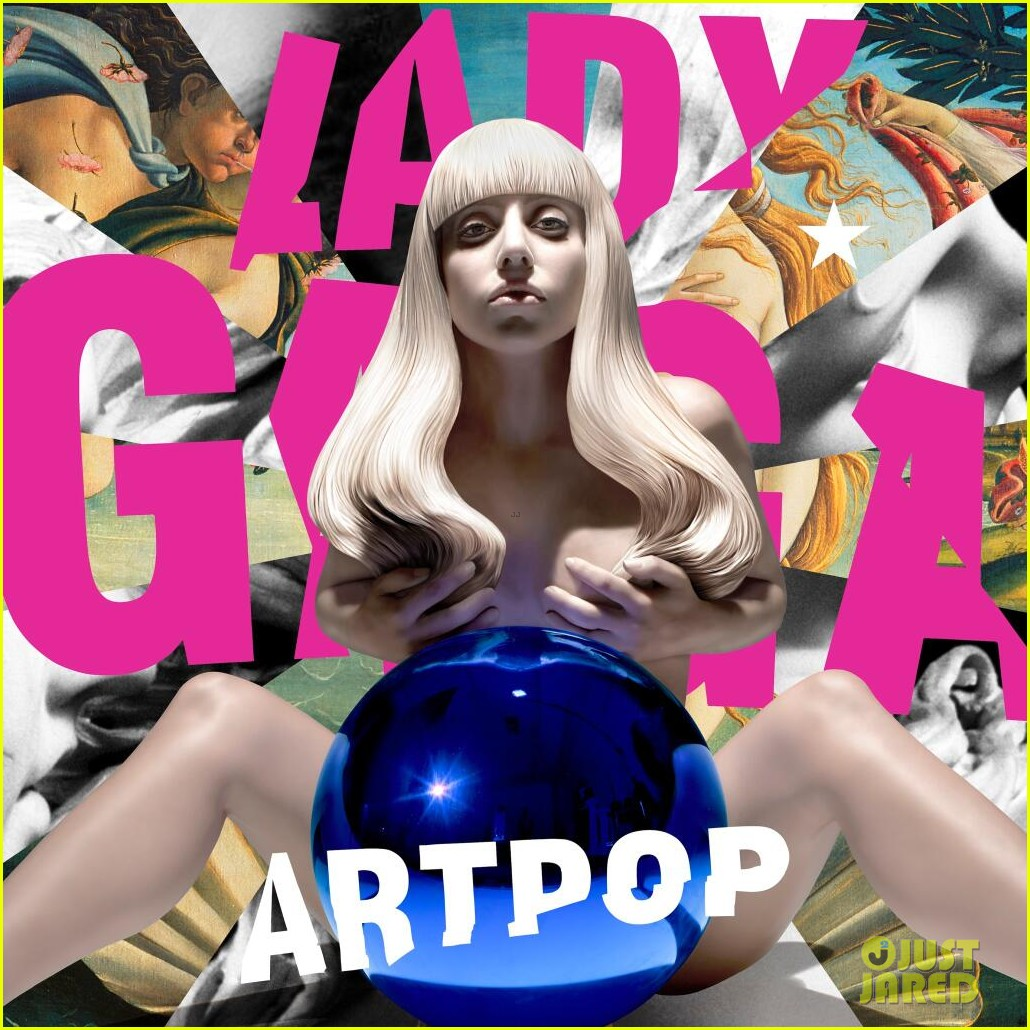 lady gaga goes nude for official artpop album cover