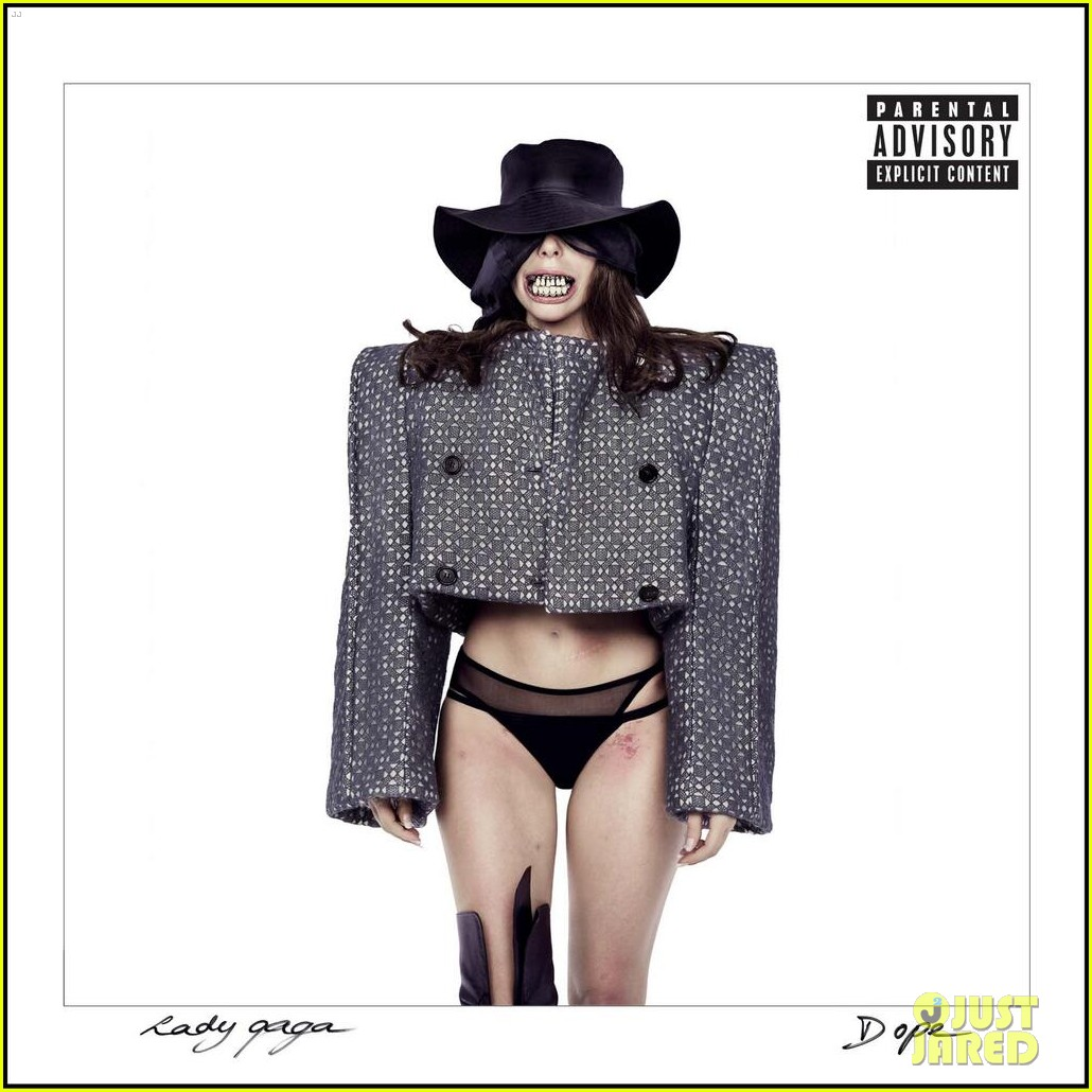 lady gaga reveals dope single cover artwork2983629