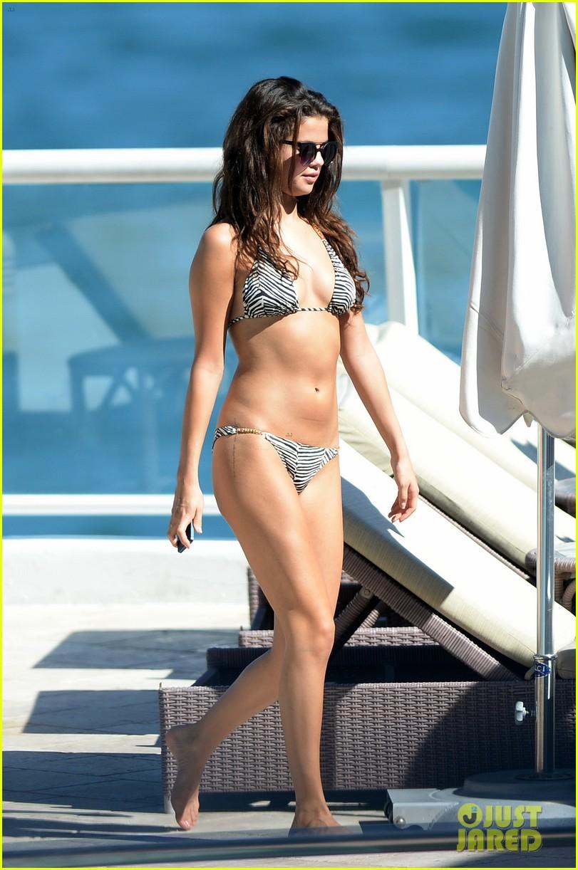 selena gomez bikini beach babe in miami 182982236
