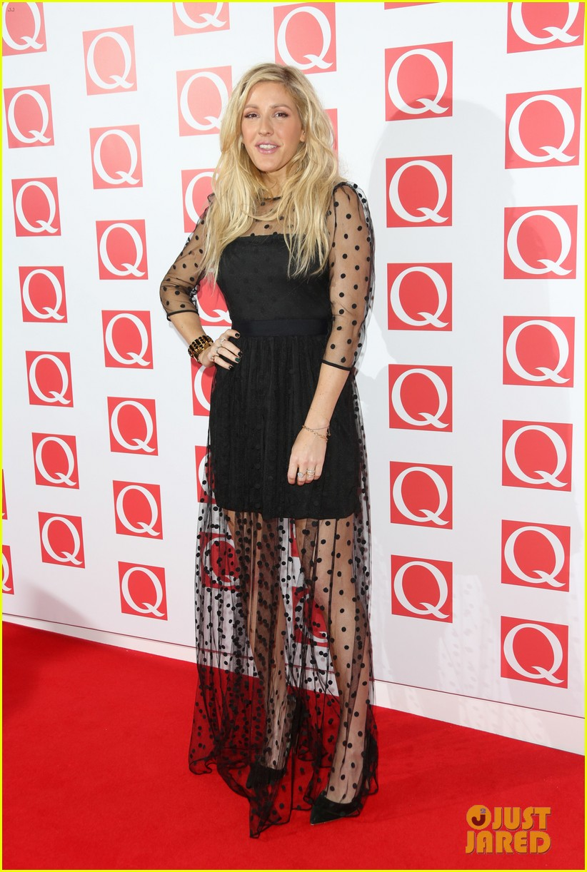 ellie goulding jake bugg q awards 2013 06