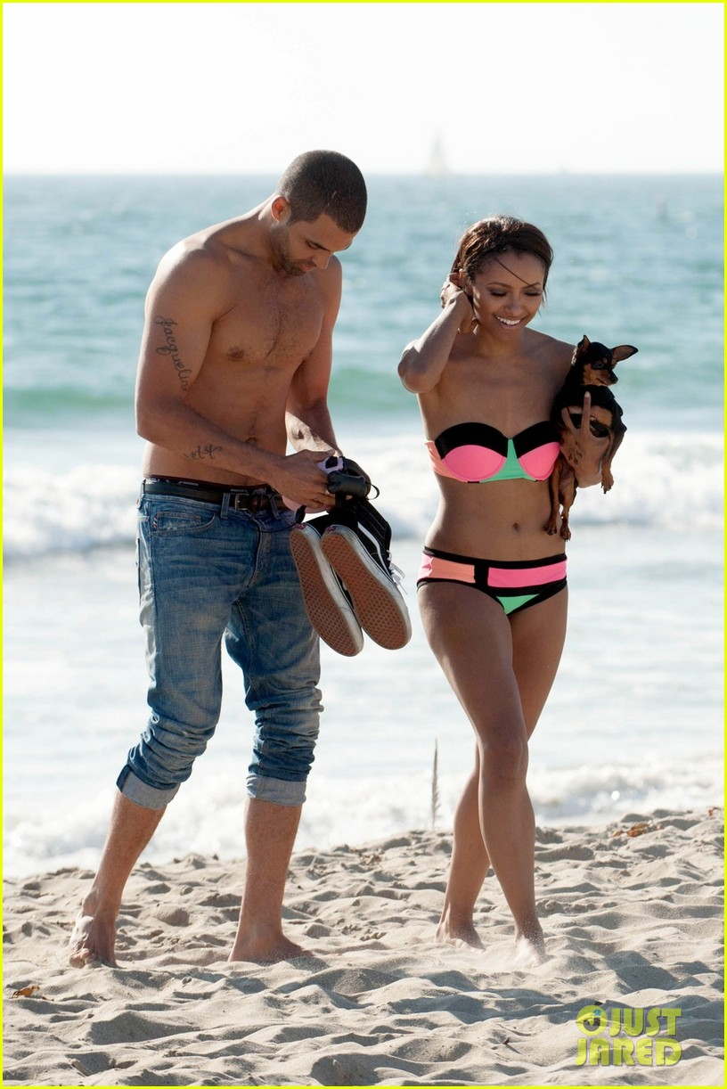 kat graham bikini kisses with cottrell guidy 012972354