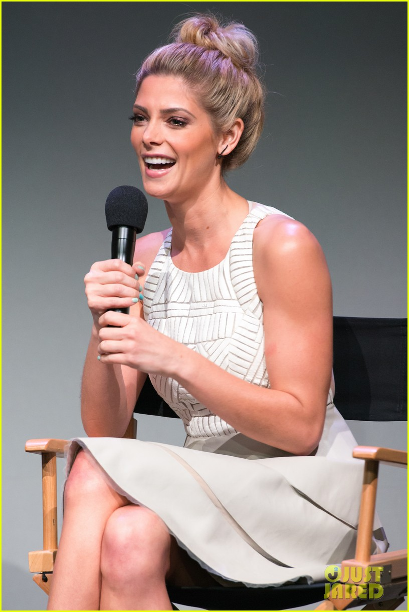 ashley greene promotes cbgb at apple store soho 022968343