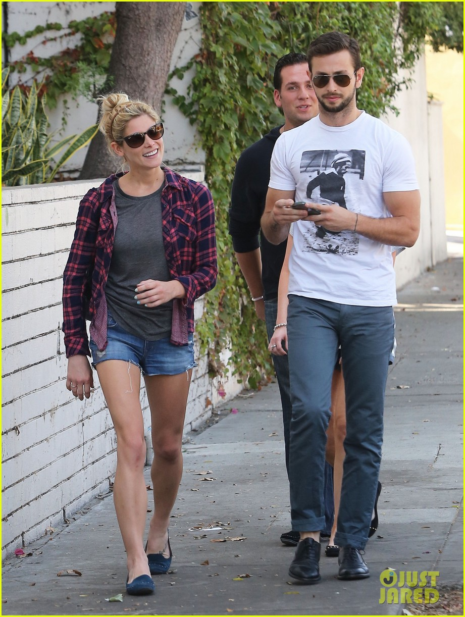 ashley greene paul khoury hang out with friends 042965410