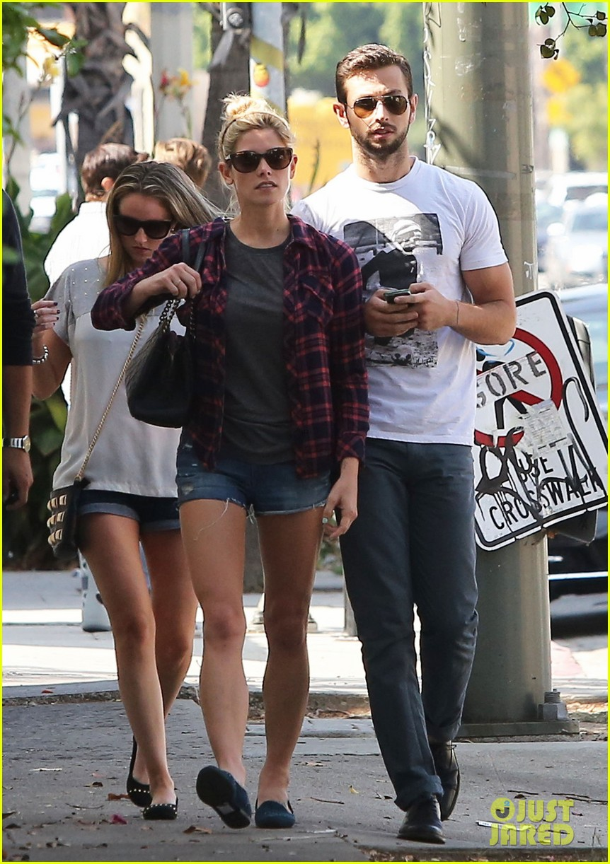 ashley greene paul khoury hang out with friends 07