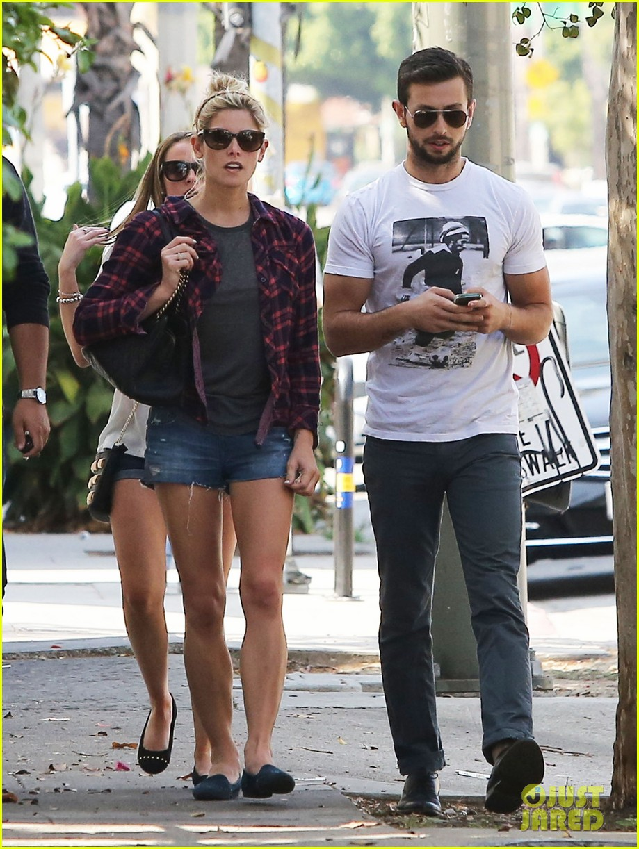 ashley greene paul khoury hang out with friends 102965416