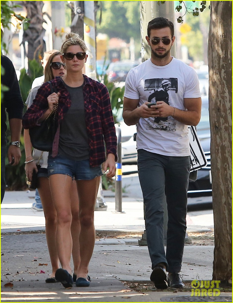 ashley greene paul khoury hang out with friends 112965417