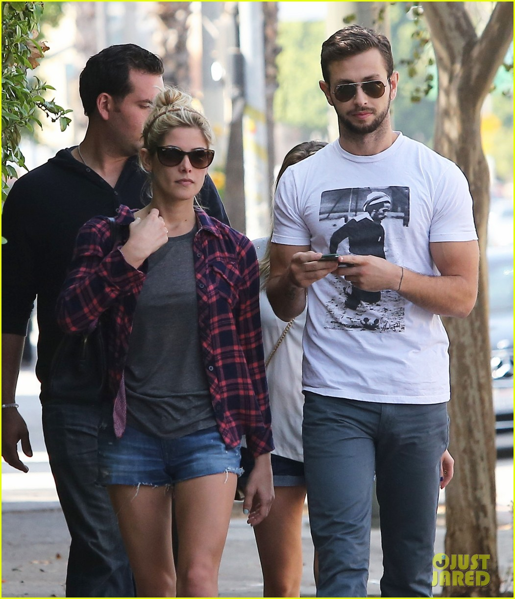 ashley greene paul khoury hang out with friends 132965419