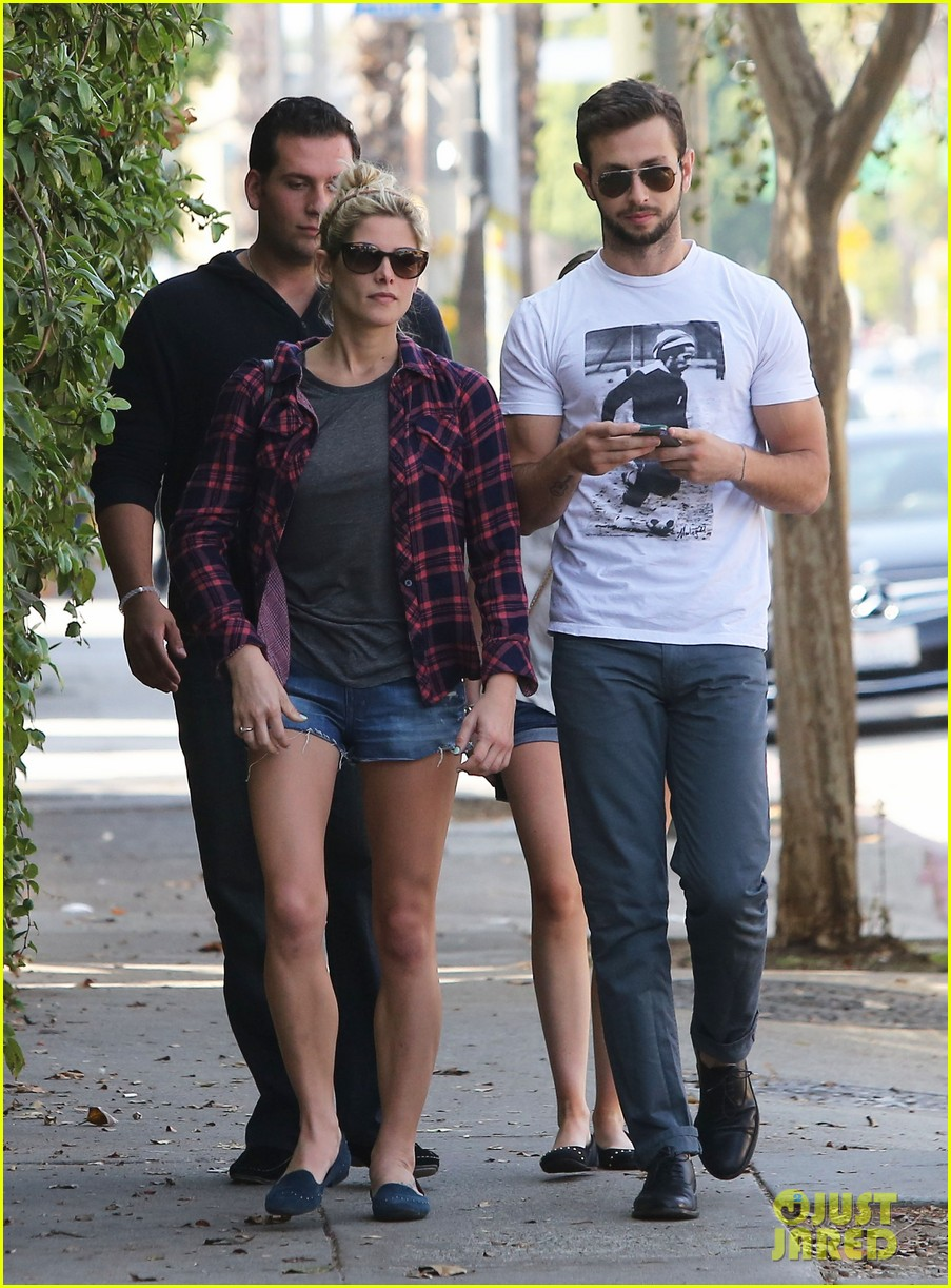 ashley greene paul khoury hang out with friends 142965420