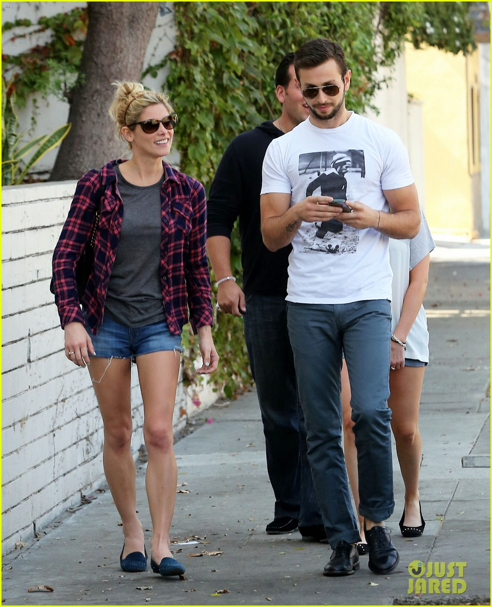 ashley greene paul khoury hang out with friends 152965421