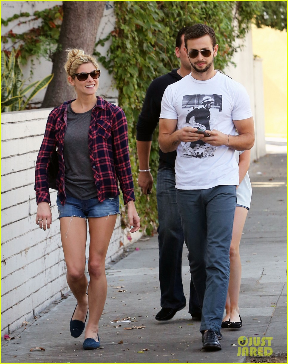 ashley greene paul khoury hang out with friends 162965422