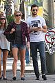 ashley greene paul khoury hang out with friends 05