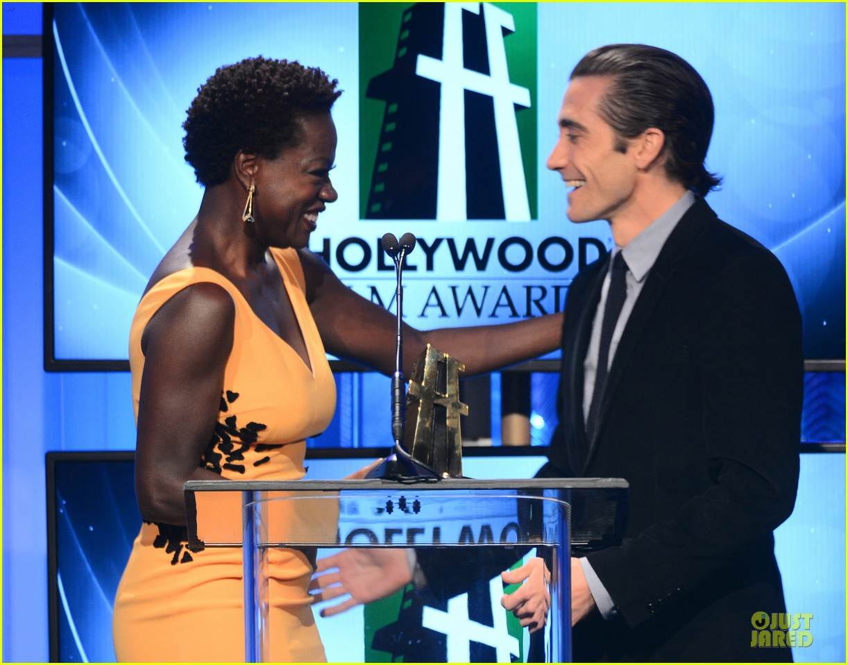 jake gyllenhaal michael b jordan hollywood film awards 2013 162976796