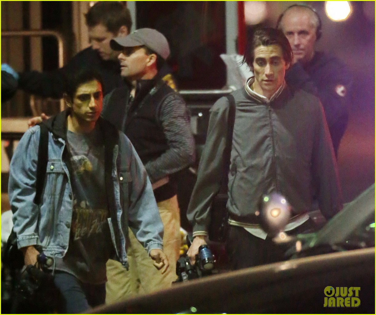 jake gyllenhaal overnight nightcrawler shoot 052976906