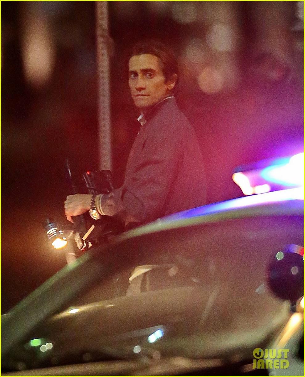 jake gyllenhaal overnight nightcrawler shoot 112976912