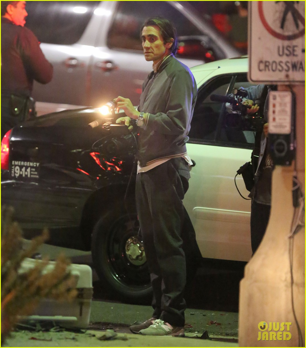 jake gyllenhaal overnight nightcrawler shoot 142976915