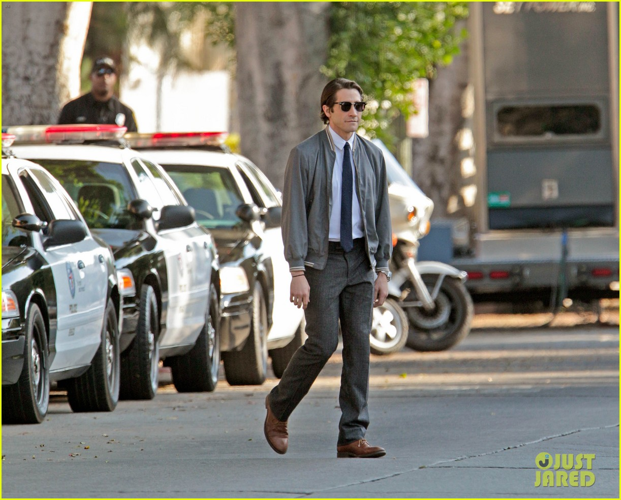 jake gyllenhaal looks slimmed down for nightcrawler shoot 062971606