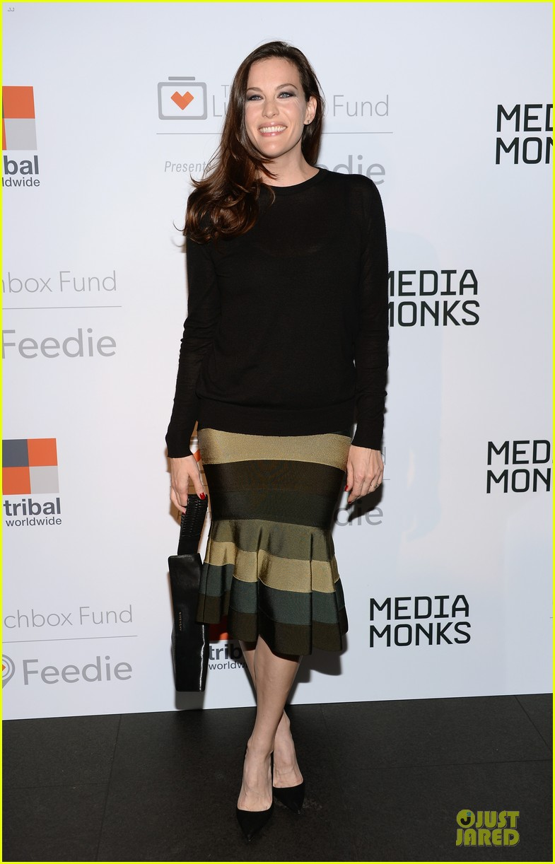 maggie gyllenhaal liv tyler the lunchbox fund fall fete 052969450