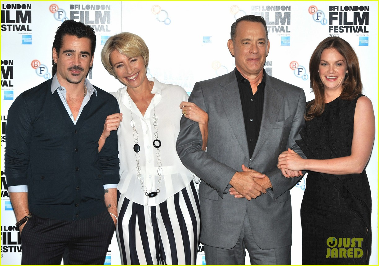 tom hanks colin farrell saving mr banks at bfi film fest 092975488