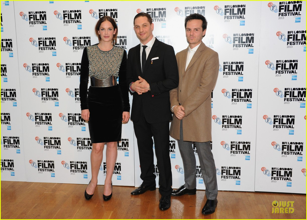 tom hardy charlotte riley locke bfi film fest screening 03