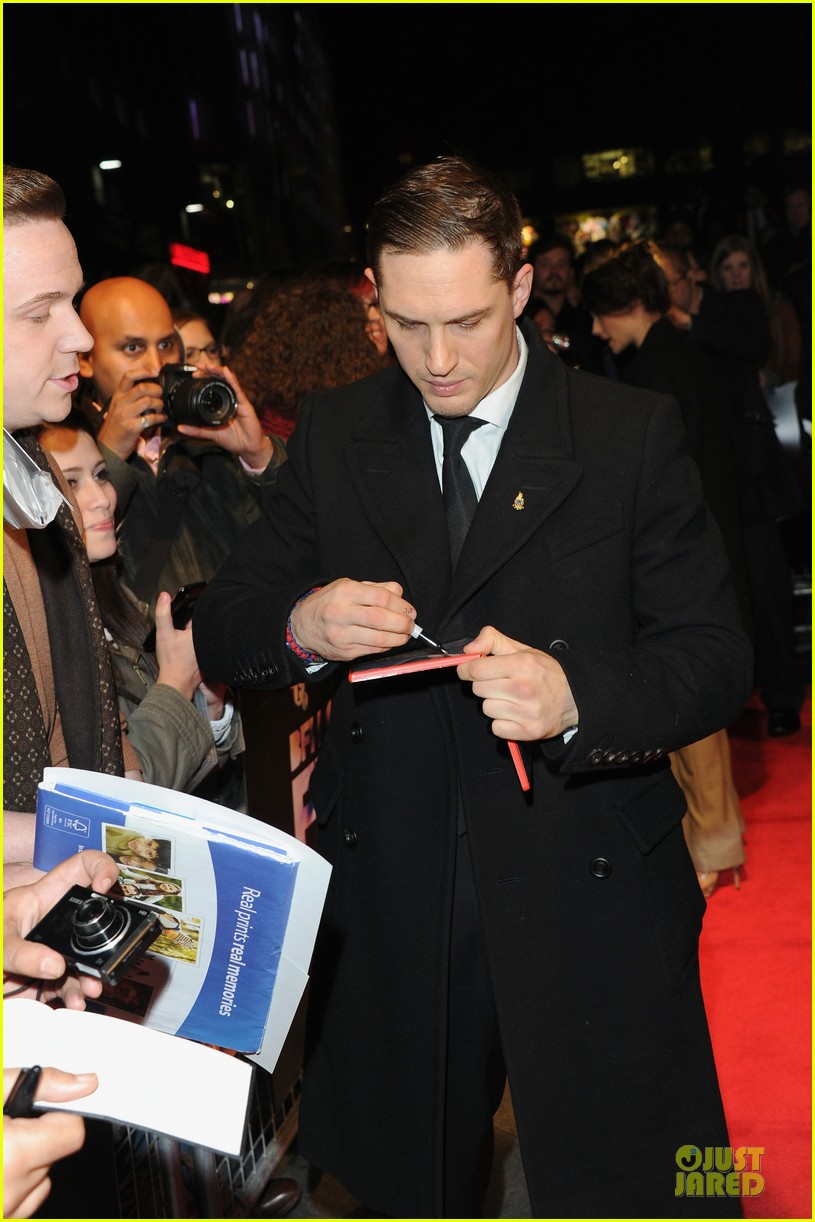 tom hardy charlotte riley locke bfi film fest screening 08