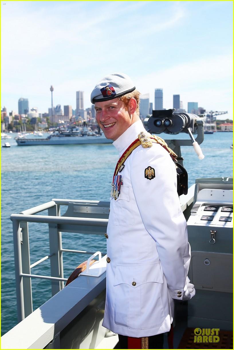 prince harry international fleet review in sydney 022966388