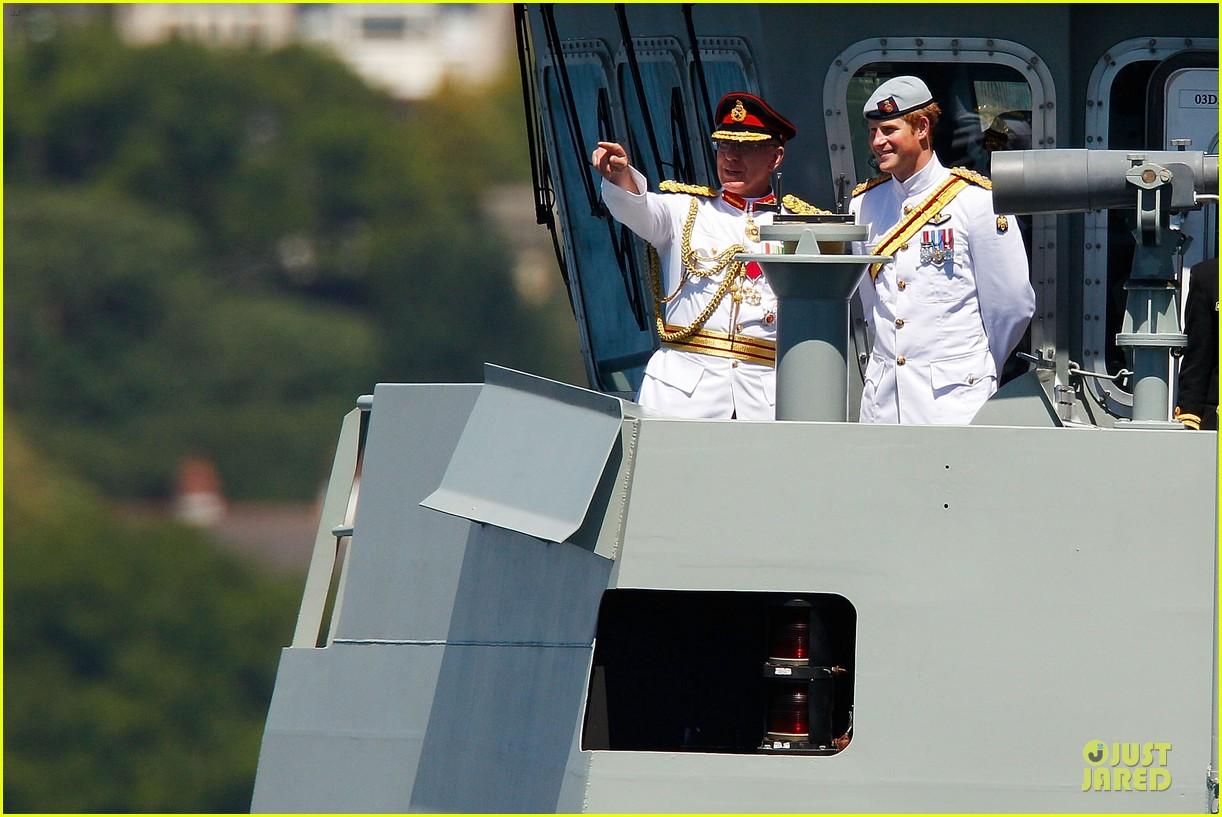 prince harry international fleet review in sydney 102966396