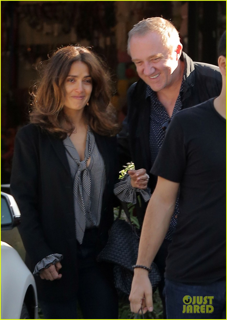 salma hayek fun filled weekend with the family 212981618