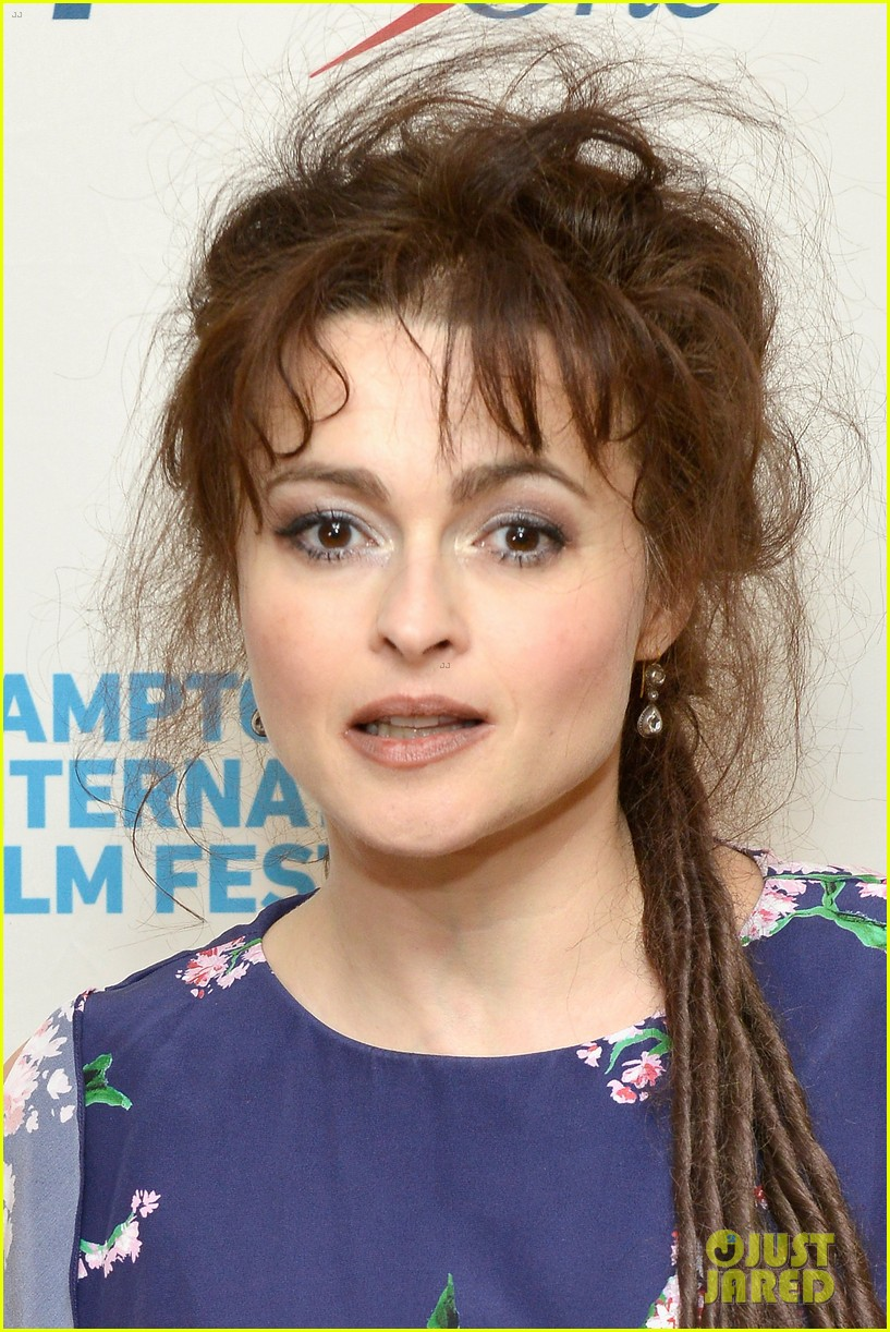 helena bonham carter rocks cornrows at hamptons film fest 042970925