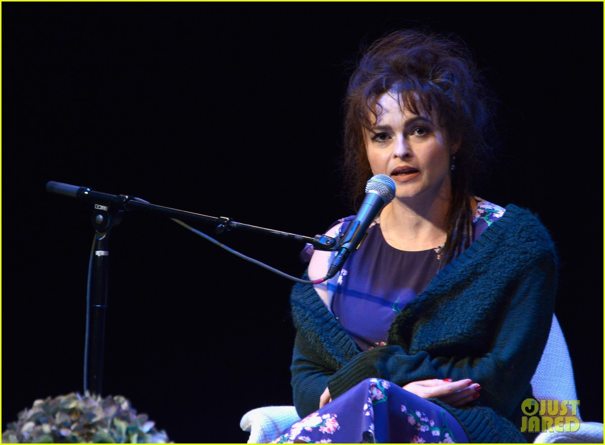 helena bonham carter rocks cornrows at hamptons film fest 062970927