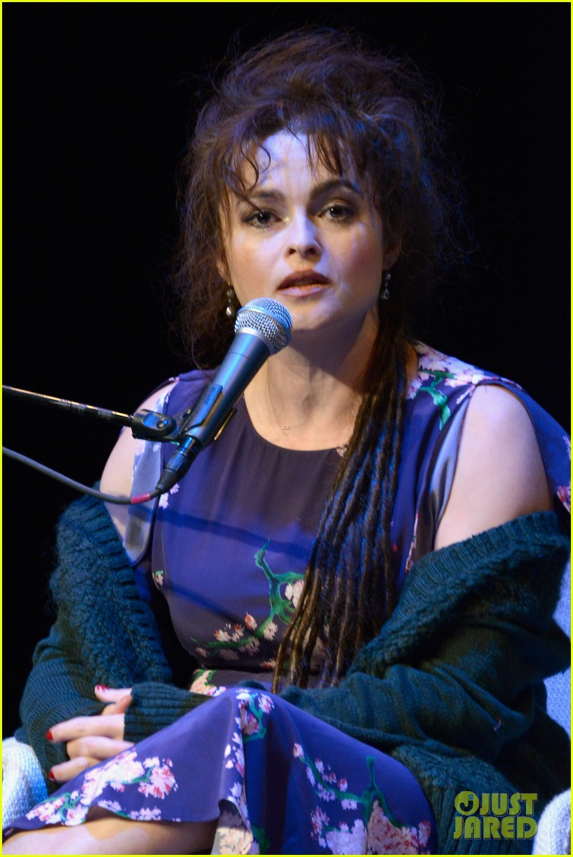 helena bonham carter rocks cornrows at hamptons film fest 072970928