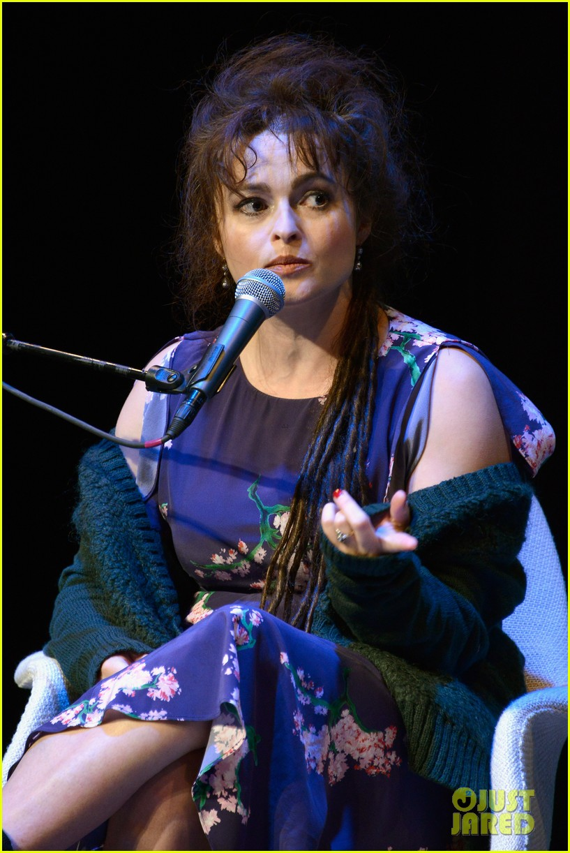 helena bonham carter rocks cornrows at hamptons film fest 08