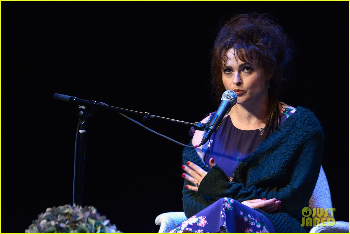 helena bonham carter rocks cornrows at hamptons film fest 092970930