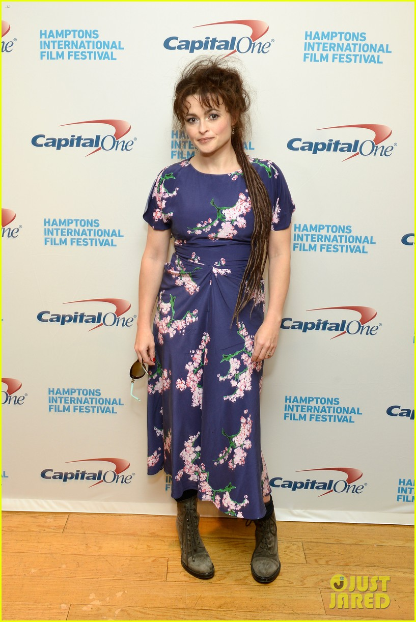 helena bonham carter rocks cornrows at hamptons film fest 122970933