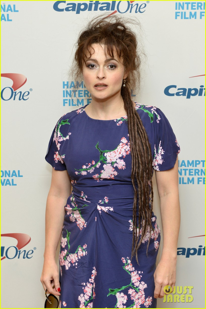 helena bonham carter rocks cornrows at hamptons film fest 14