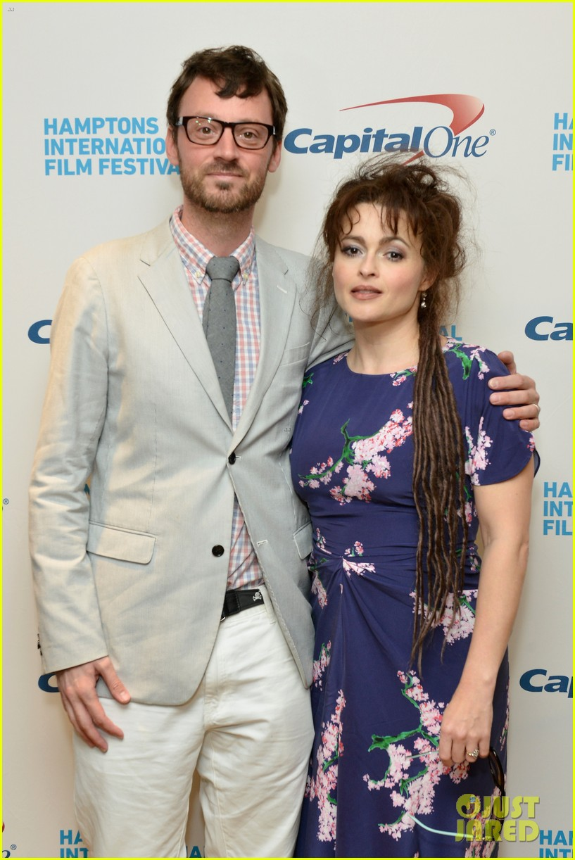 helena bonham carter rocks cornrows at hamptons film fest 19